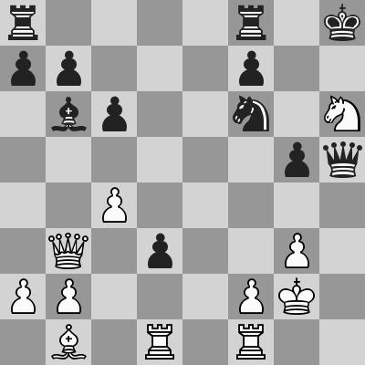 FIDE World CUP 2017 - R7 R1 Aronian-Ding Liren dopo 27. ... d3