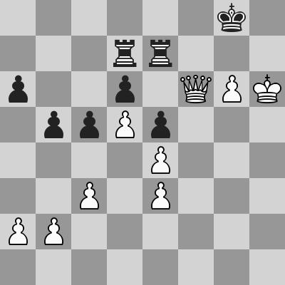 Shirov-Short dopo 41. ... Tge7