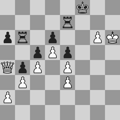 Shirov-Short dopo 52 ... Rf8