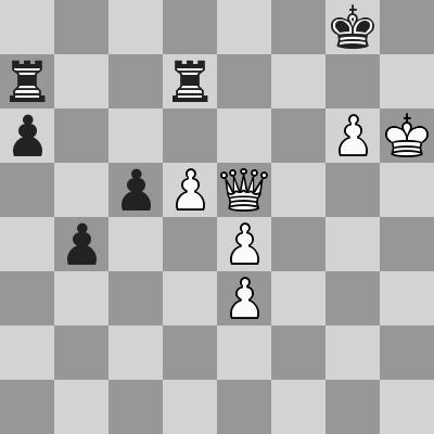 Shirov-Short dopo 60. Dxe5