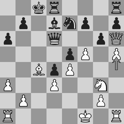 Svidler-Vachier Lagrave - R5, R2 dopo 20. h5