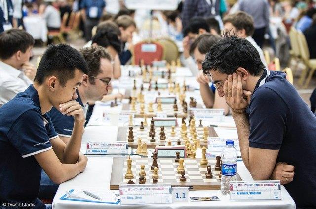 ECC2017 - R6 Ding Liren-Kramnik (Llada)