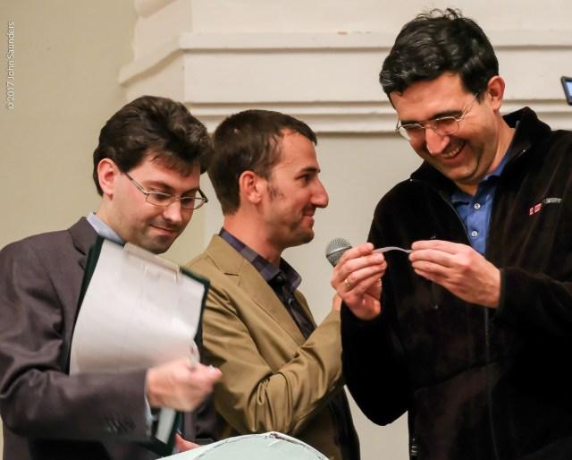 Matthew Carr, Mike Klein, Vladimir Kramnik
