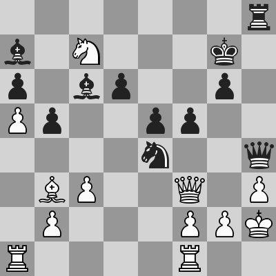 Kosteniuk-Shirov dopo 27. Rh2