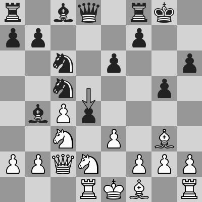 Bai Jinshi-Ding Liren dopo 13. ... d4