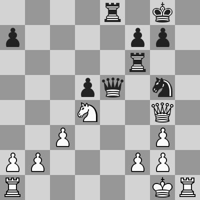 Eljanov-Hammer dopo 22. Rg1