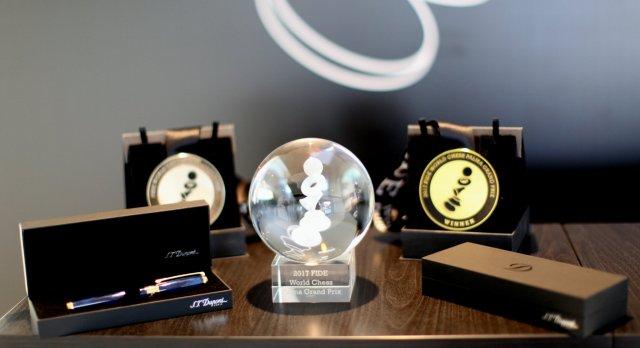 FIDE GP Palma - Premi