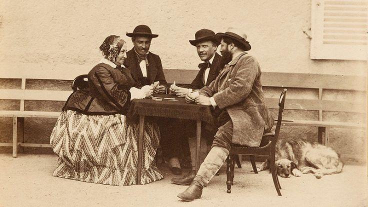 La_Partie_de_Cartes_by_Olympe_Aguado,_1860