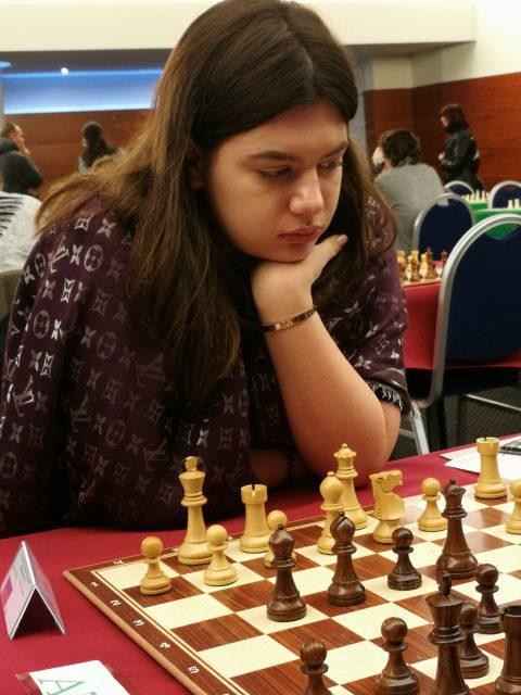 Alina Beshukova, Russia
