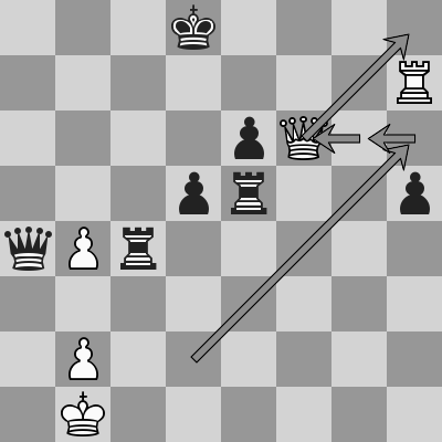 Aravindh-Zdenko dopo 45. Df6+