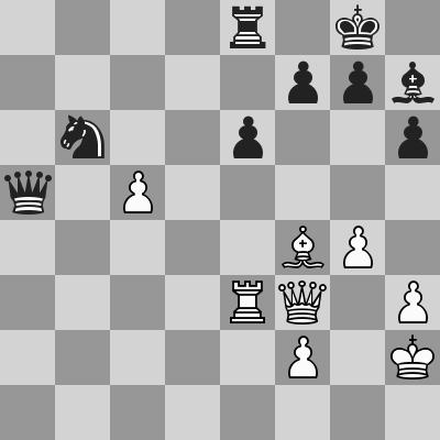 Carlsen-Nepomniachtchi dopo 35. ... Dxa5