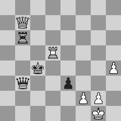 Caruana-Nepomniachtchi (Blitz 1, Partita 2) dopo 63. ... Rc4