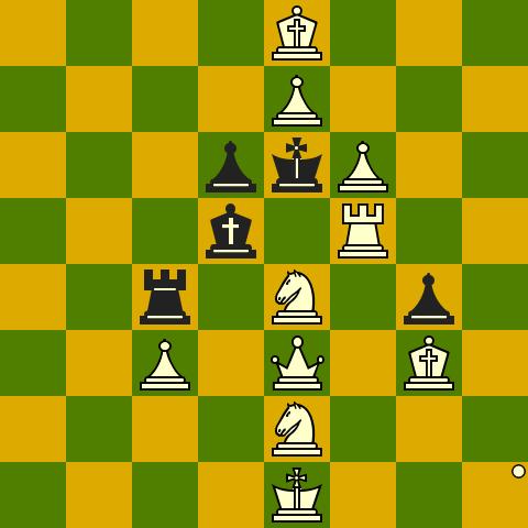 Il B muove e matta in 2 (P.Benko, Chess Life 1975)
