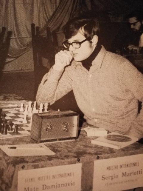 Sergio Mariotti a Reggio Emilia 1969/70