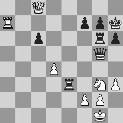 Sisabayev-Nugumanov dopo 33. ... Rh7
