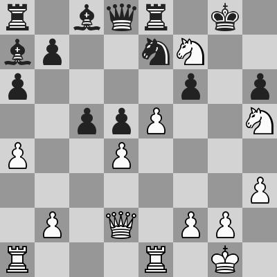 Anand-Leko, Rapid 2° turno, dopo 24. Cxf7