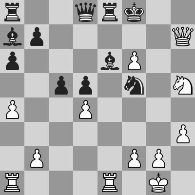 Anand-Leko, Rapid 2° turno, dopo 27. ... Ae6