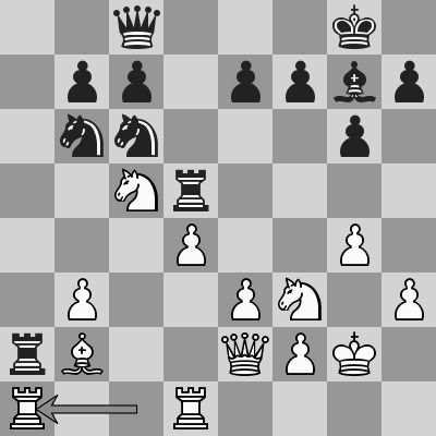 Carlsen-Artemiev, Blitz 19° turno, dopo 21. Ta1