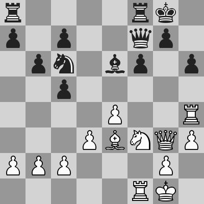 Carlsen-Karjakin, Blitz 15° turno, dopo 22. Dg3