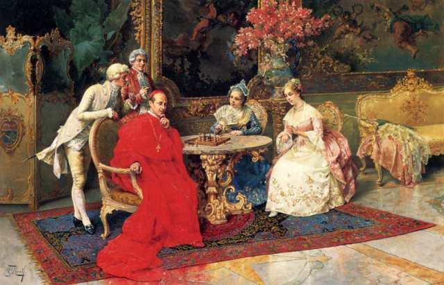 I giocatori di scacchi - Rosati