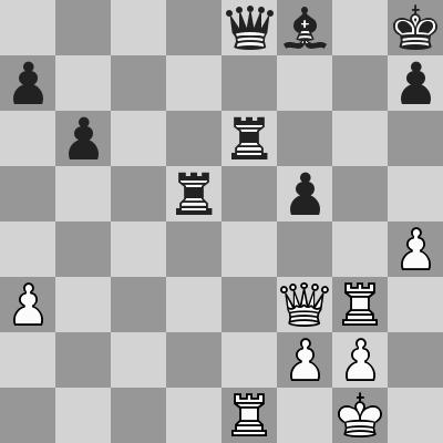 Gupta-Ivanchuk, R8, dopo 30. ... Txe6