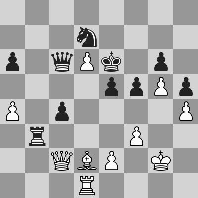 Candidates 2018 - R11, Aronian-Karjakin dopo 41. ... Tb3