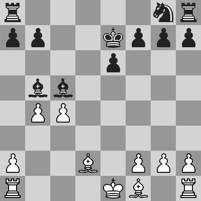 Candidates 2018 - R11, Caruana- Kramnik dopo 12. ... Axb5