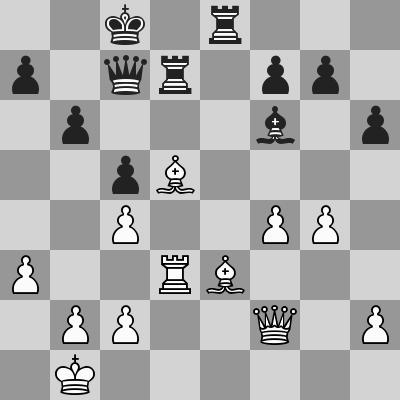 Candidates 2018 - R12, Karjakin-Caruana dopo 22. Td3