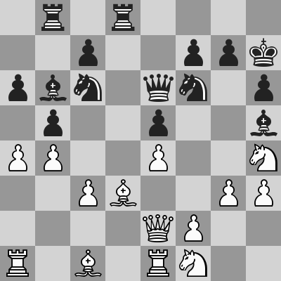Candidates 2018 - R13, Caruana-Aronian dopo 24. ... Ah5