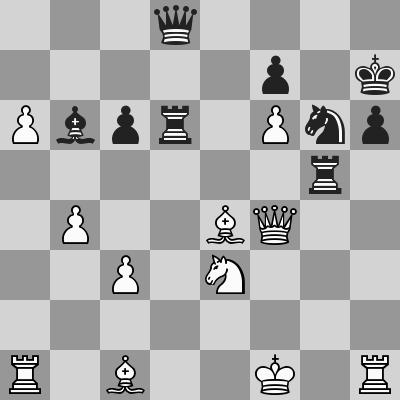 Candidates 2018 - R13, Caruana-Aronian dopo 38. ... Cg6
