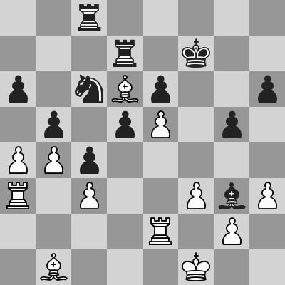 Candidates 2018 - R14, Grischuk-Caruana dopo 31. Ta3