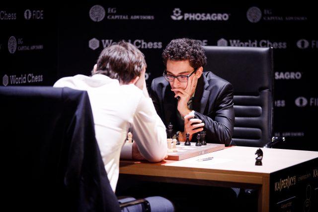 Candidates 2018 - R14, Grischuk-Caruana