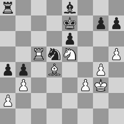 Candidates 2018 - R9, Caruana-Ding Liren dopo 40. ... Re7