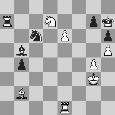 Candidates 2018 - R9, Caruana-Ding Liren dopo 56. ...Ab5