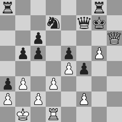 Anand-Grischuk, Rapid R8, dopo 30. Dh6#