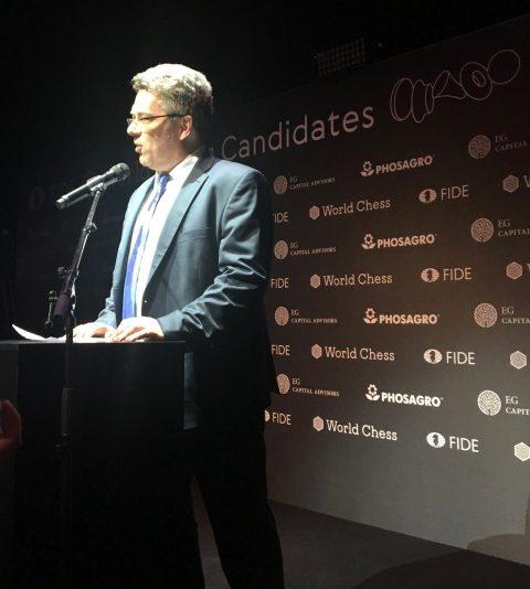 Candidates 2018 - Ullrich Krause, President German Chess Federation