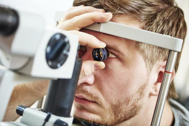Esame del fondo dell'occhio