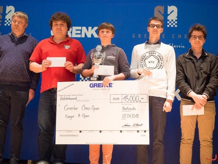 Grenke Open podio