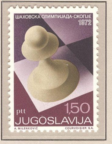 205 - Ajedrez-Chess Tomo-Volume I - Iugoslavia - 1972 - 1
