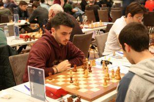 Francesco Seresin (a sinistra) contro Francesco Sonis