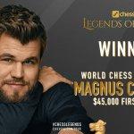 """Carlsen: """"El vince semper lu…"""""""