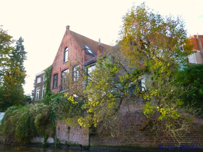 Old house near one of the canals