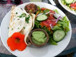 Lunch break at Cerro San Cristobal