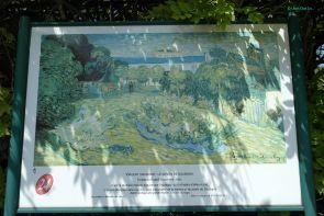 Le Jardin de Daubigny painted by Van Gogh