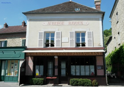 The hostel where Van Gogh lived during his stay in Auvers sur Oise