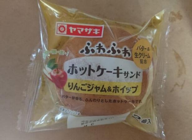 ヤマザキホットケーキサンドりんごジャム&ホイップのカロリー&味は?