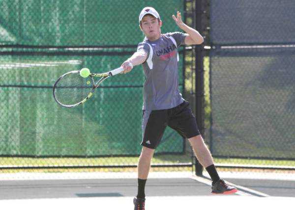 Omaha men's tennis falls at Nebraska - Gateway