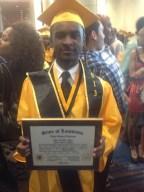 Graduate 2013 Tyree B.