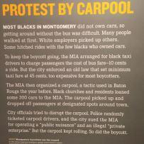 Civil Rights Carpool Protest
