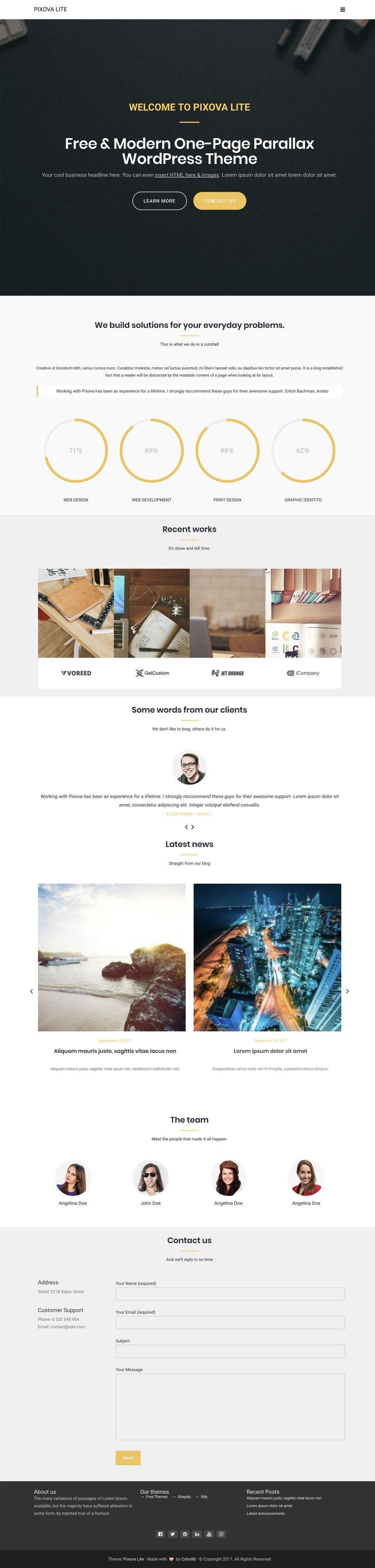 wordpress startup